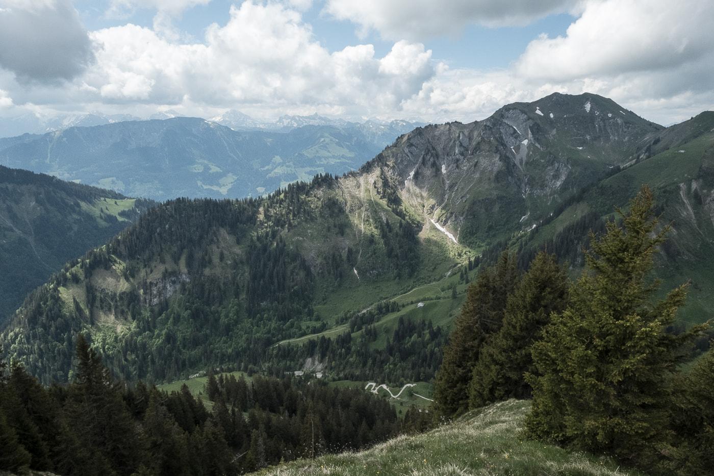 gantrisch blick richtung alpen