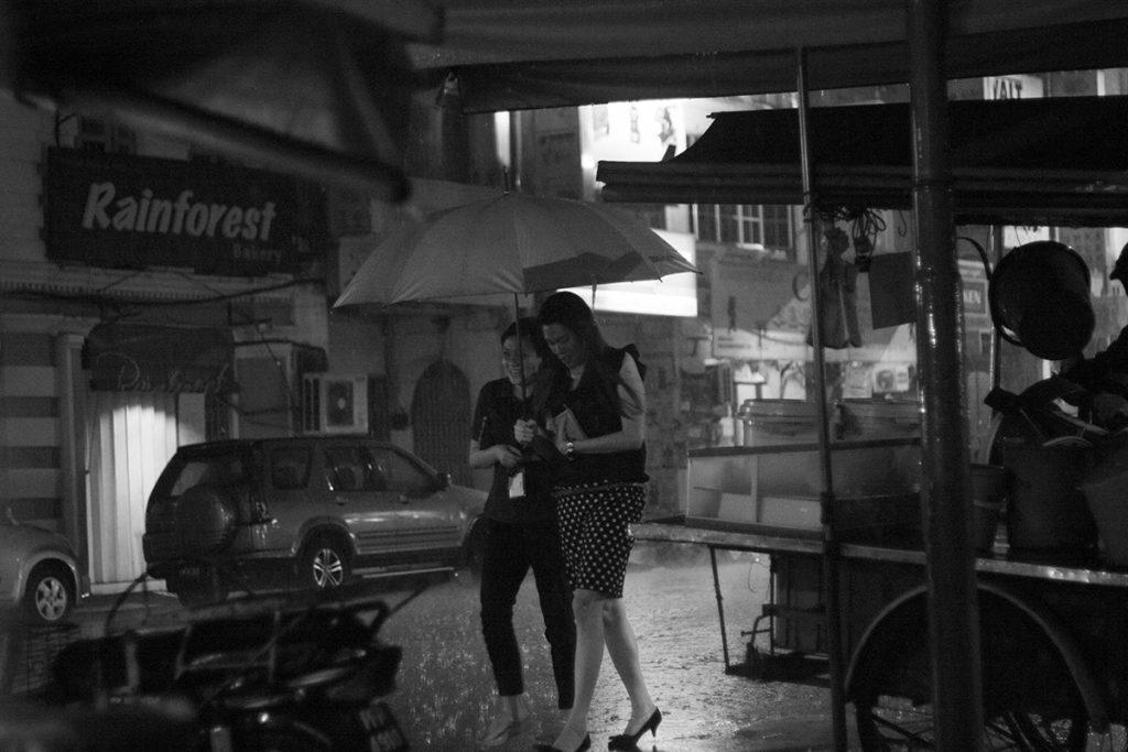 Lichtstarke Streetfotografie dank Festbrennweite