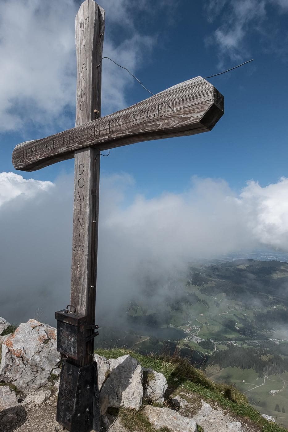 Gipfelkreuz Kaiseregg