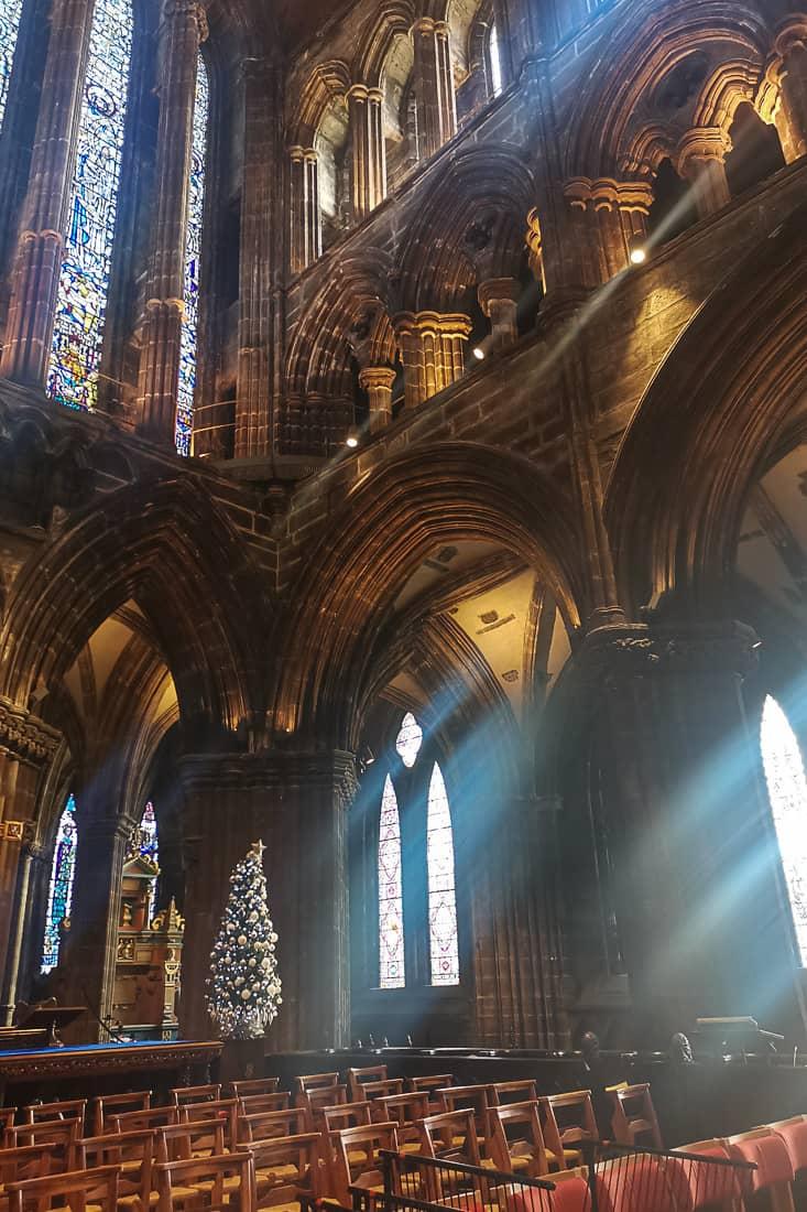 glasgow kathedrale innern
