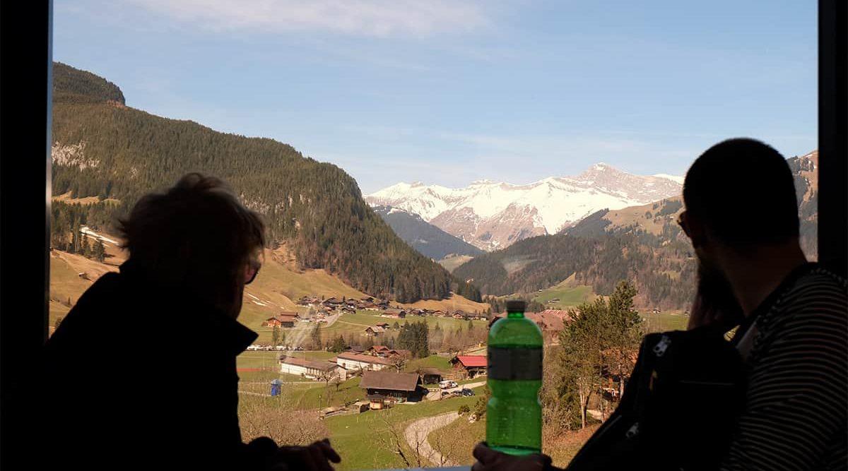 Fahrt im Golden Panoramic Express