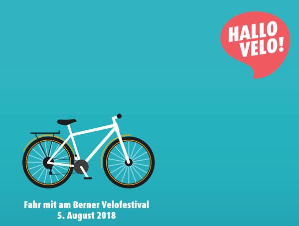 Velofestival Bern Hallo Velo
