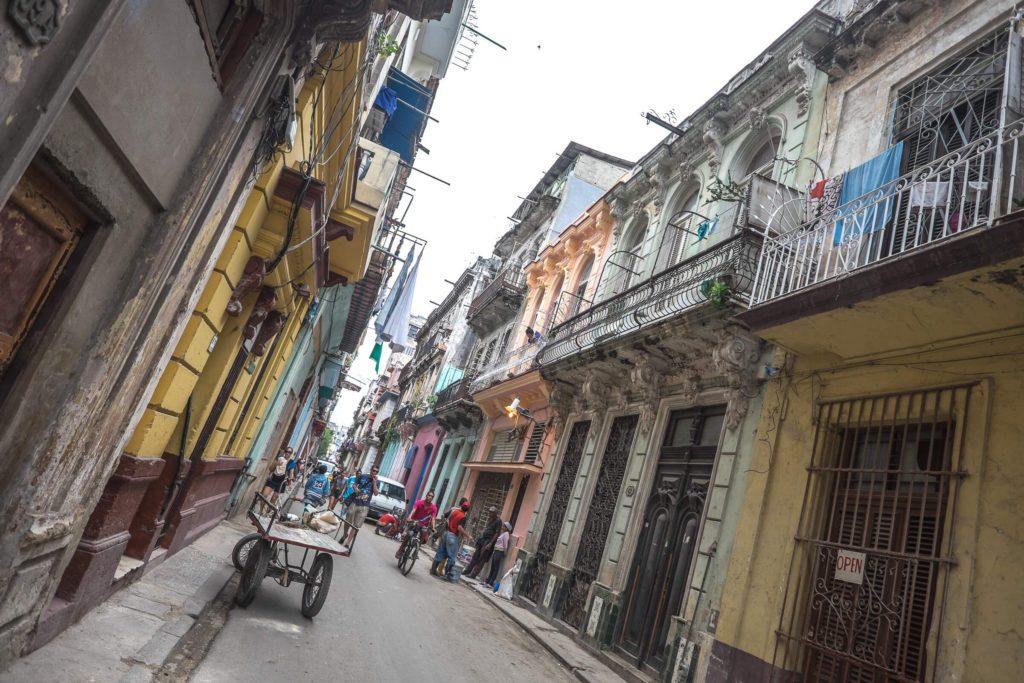 Strassen von Havanna Kuba