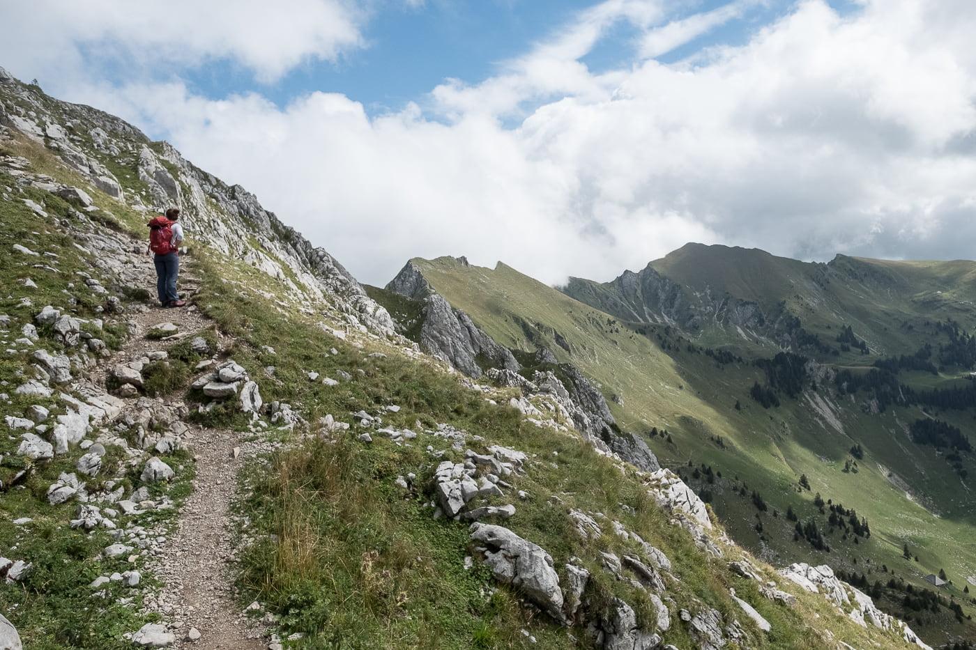 Höhenwanderung auf die Kaiseregg