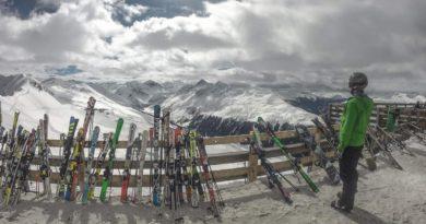 Aussicht auf dem Jakobshorn Davos