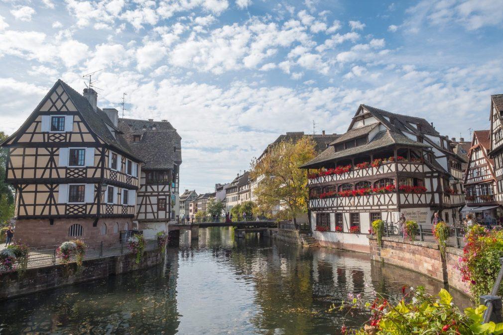 Kleines Venedig in Strasbourg