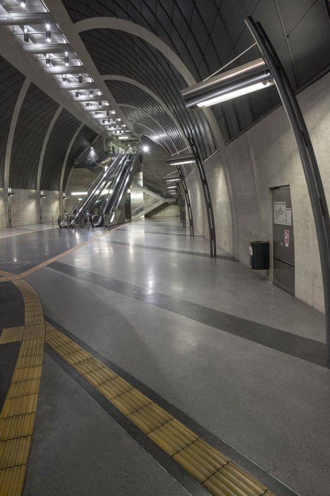 U-Bahn Station Heumarkt Köln