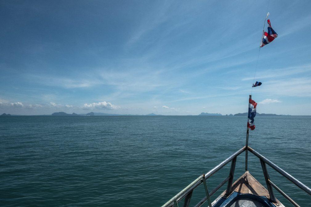 Schifffahrt nach Koh Mook