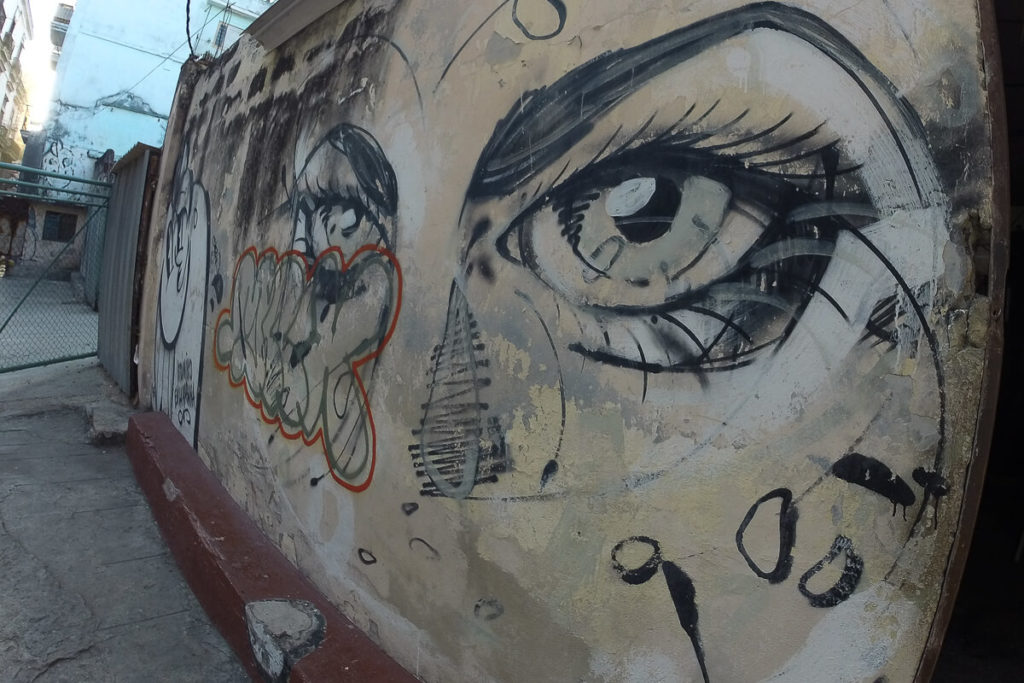 Street Art Havanna Eyes