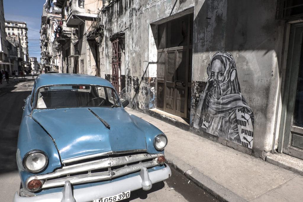 Streetart in Kuba