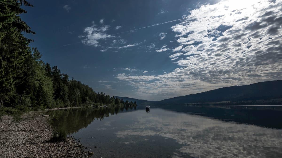 lac de joux spaziergang