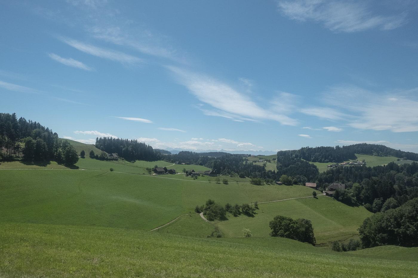 Landschaft Emmental
