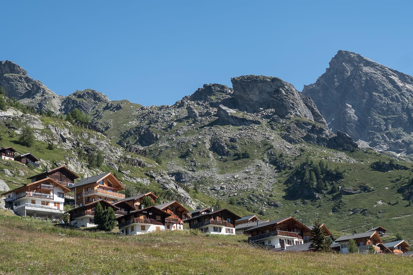 Lauchernalp Dorf