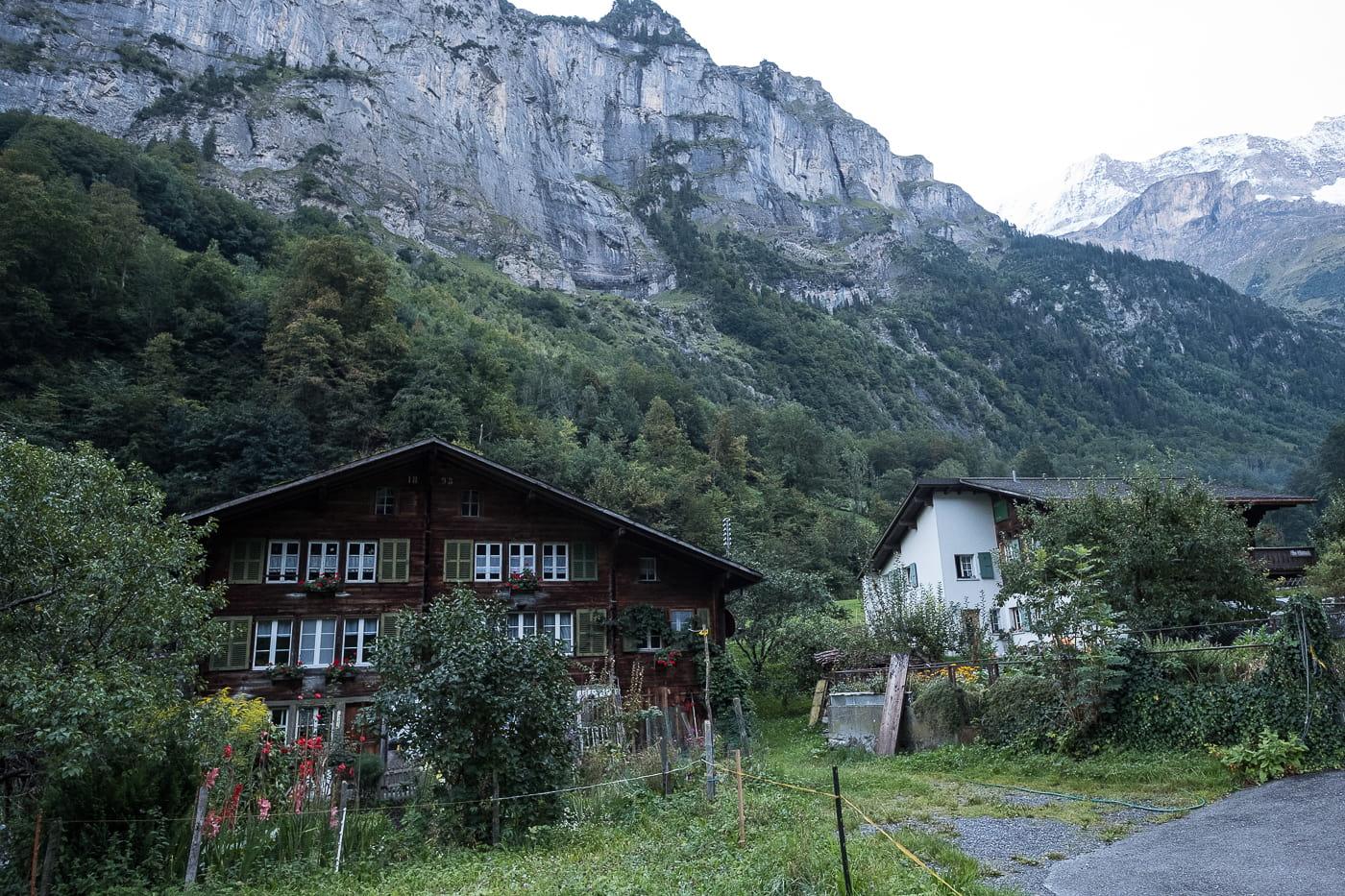 Lauterbrunnental Chalet in Stechelberg