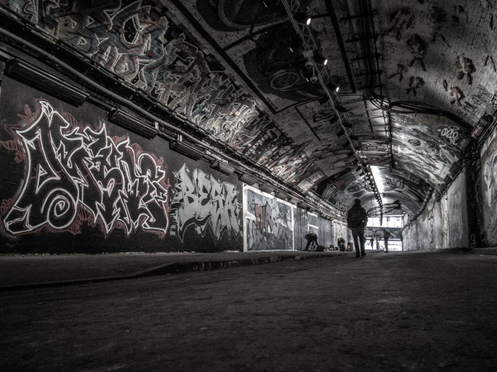 London Leake Street Tunnel