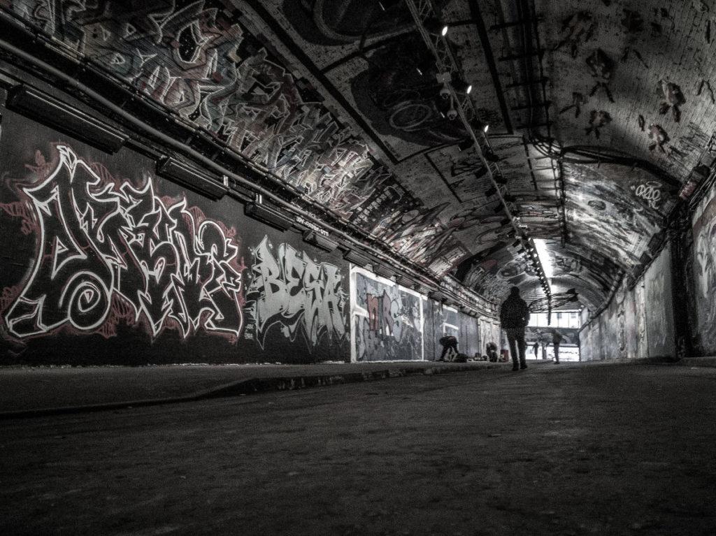 London Leake Street Tunnel