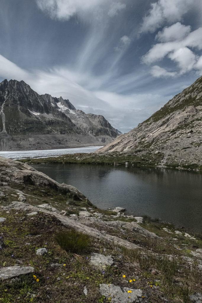 Mäjelensee beim Aletschgletscher