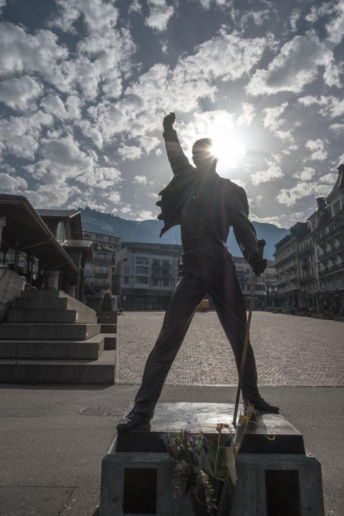 Montreux Freddie Mercury Statue