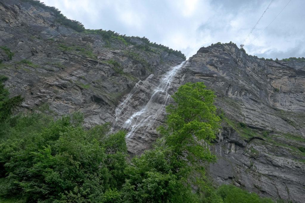 Mürrenbachfall - der höchste Wasserfall der Schweiz