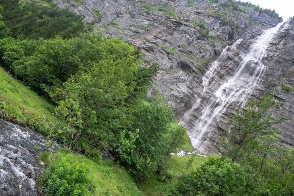 Mürrenbachfall Lauterbrunnen