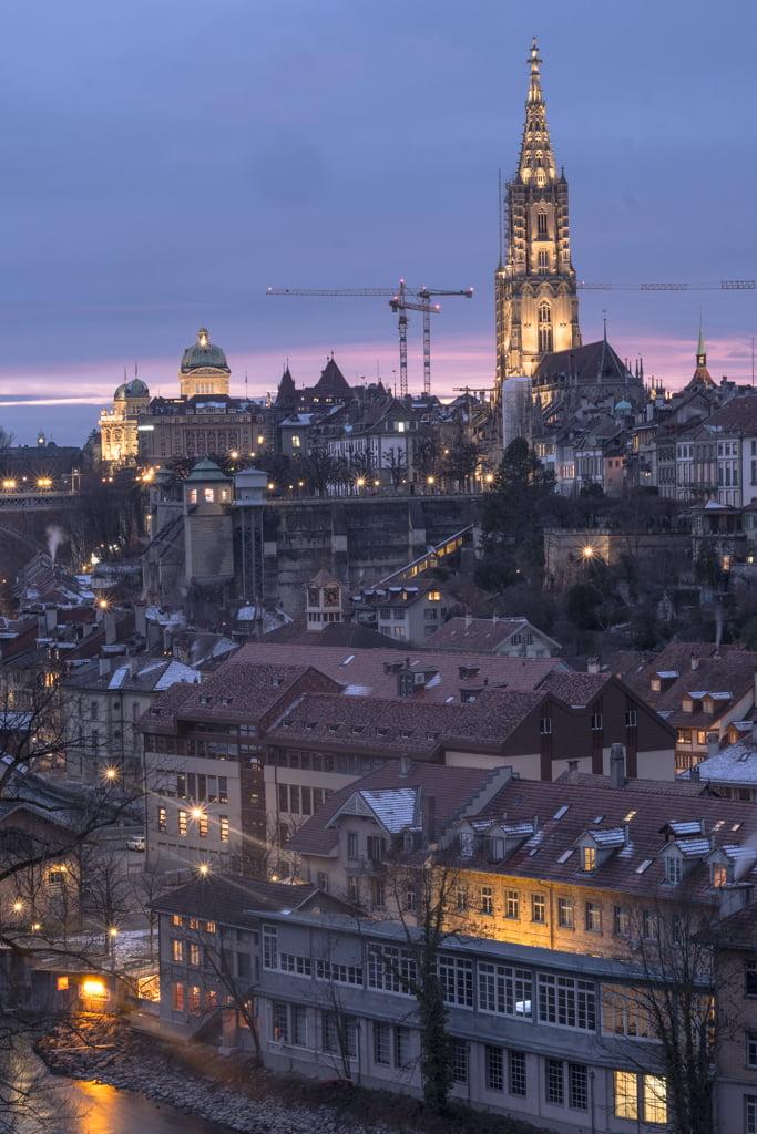 Muristalden Ausblick auf Bern
