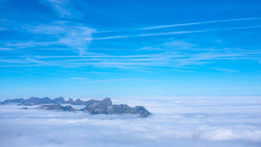 Bergspitzen Niesen