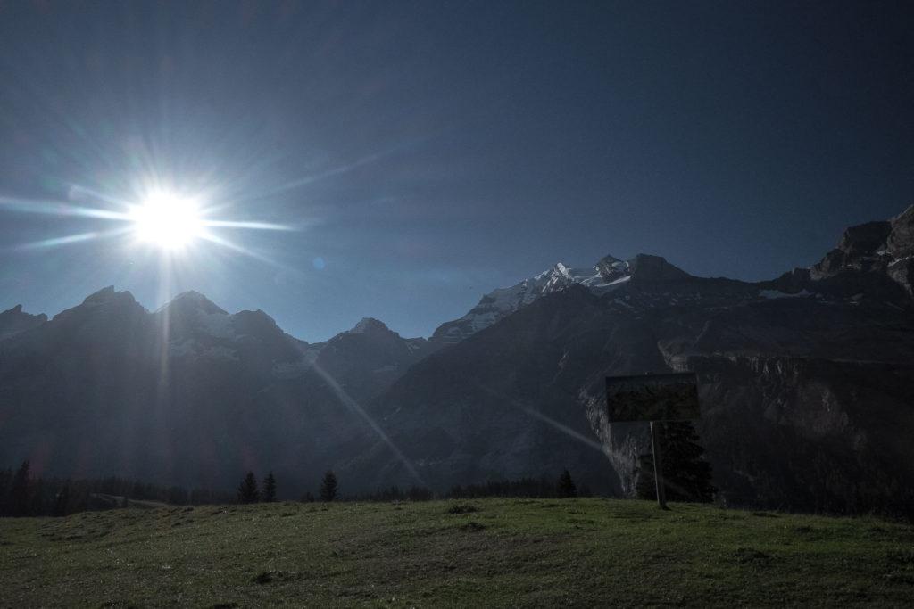 Bergpanorama Oeschinensee
