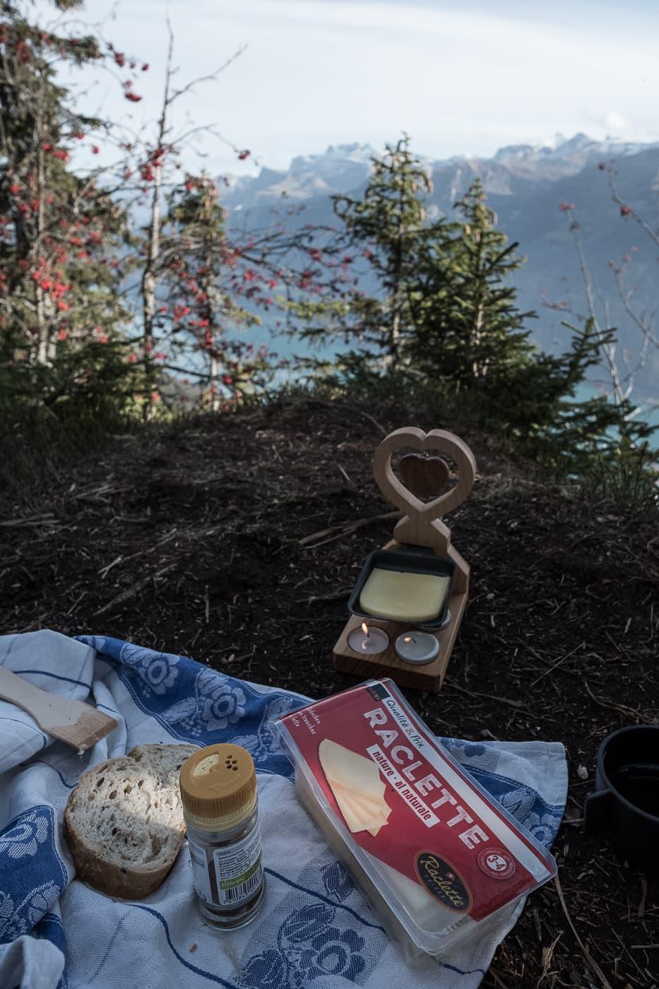 Outdoor Raclette statt grosse Wanderung