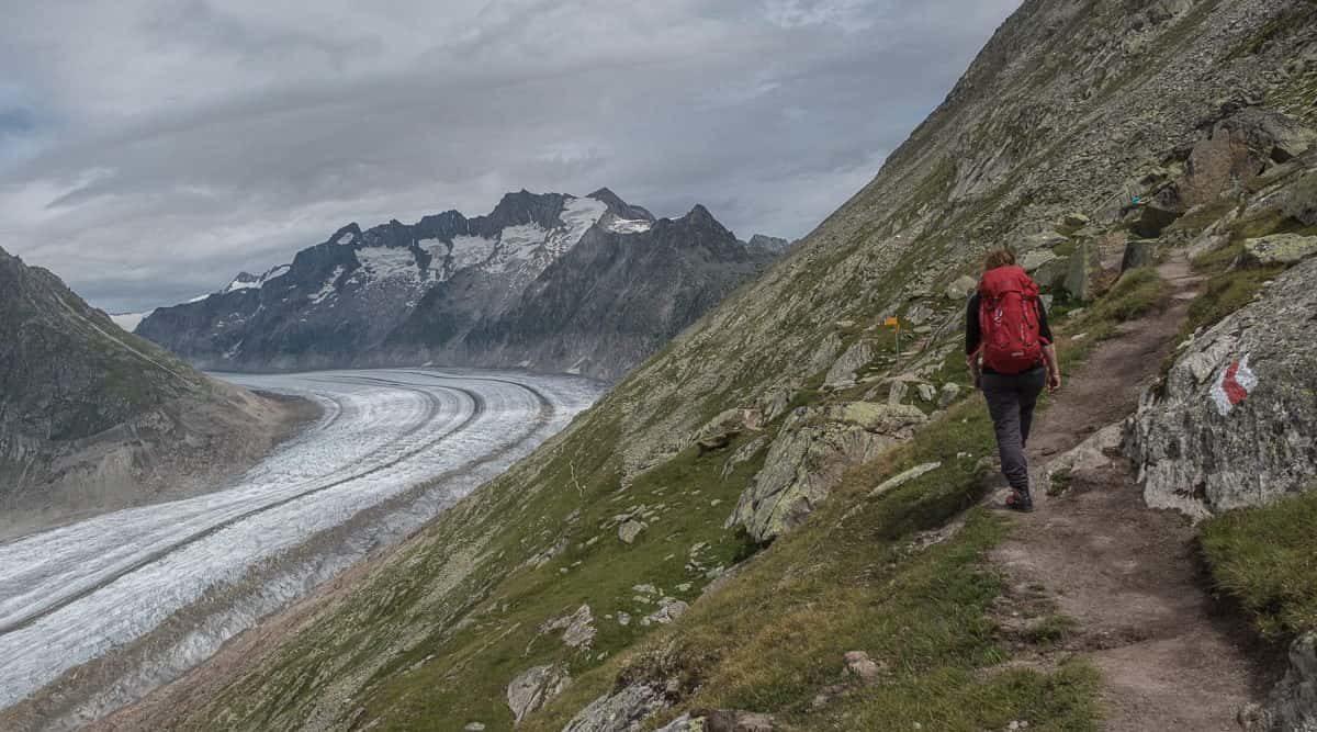 Wandern Aletschgebiet