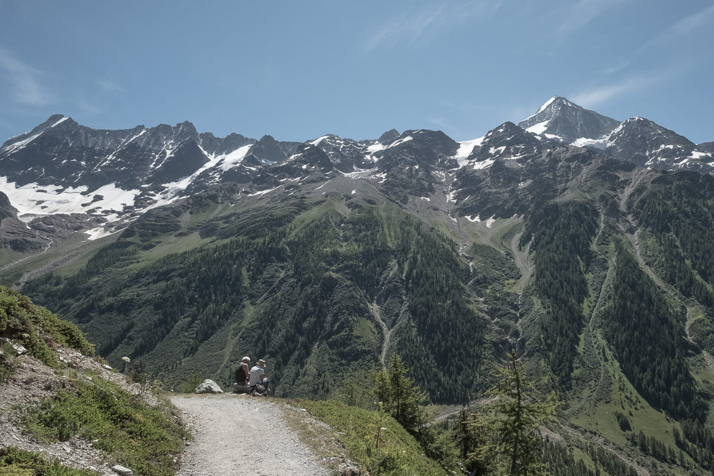 Panoramaweg Lauchernalp Fafleralp