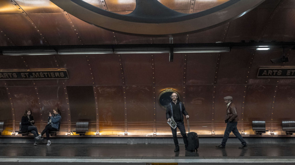 "Paris station metro ""Arts et Metiers"""