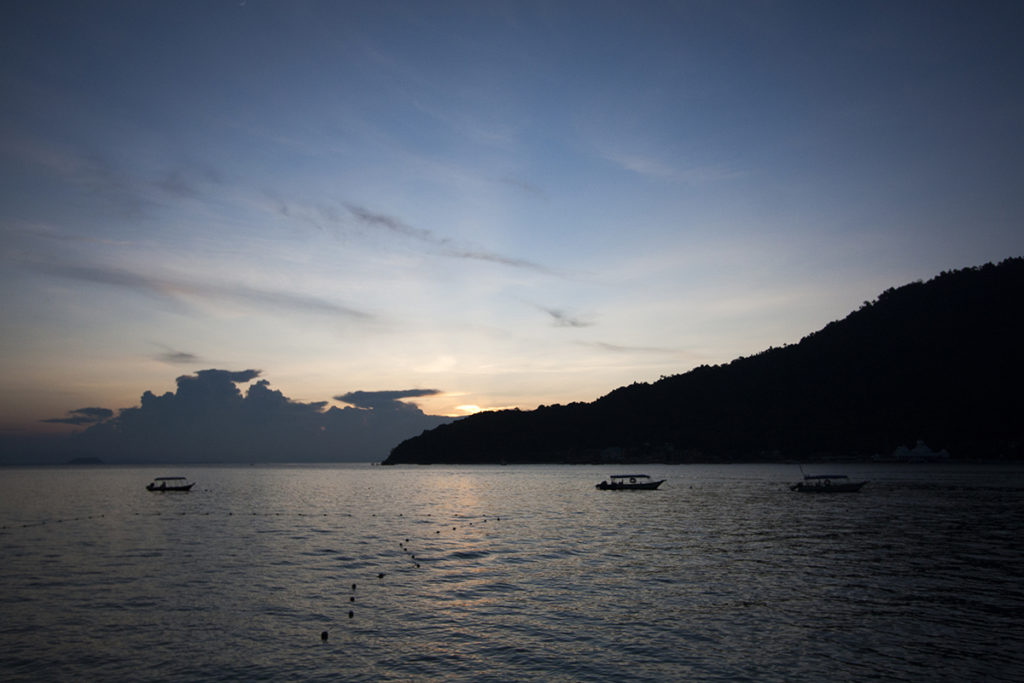 Sonnenuntergang im Paradies von Perhentian Islands