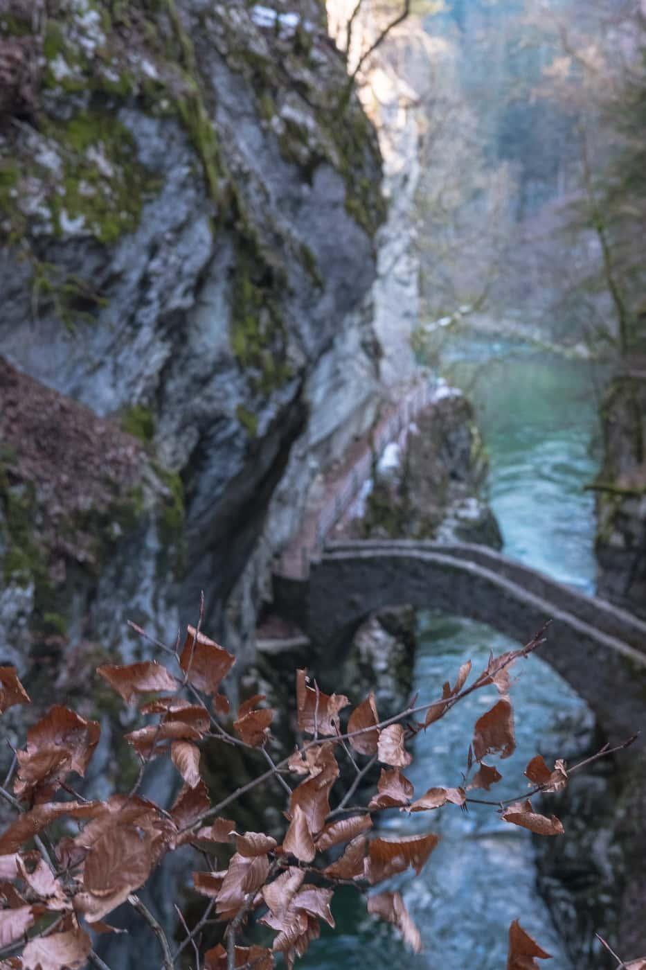 Pont Saut du Brot Areuse