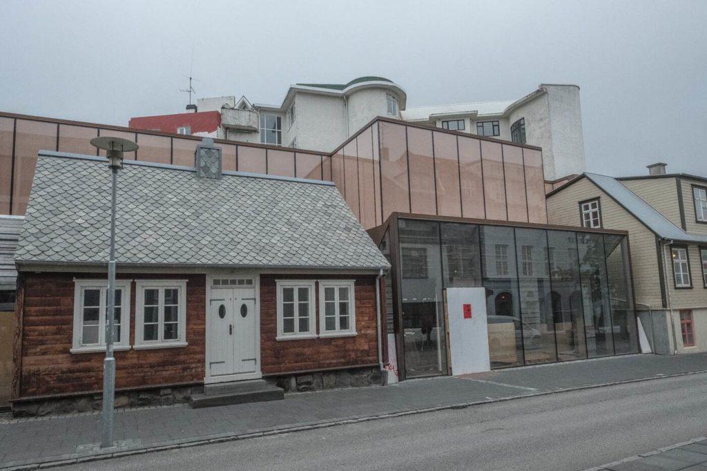 Reykjavik moderne Haeuser