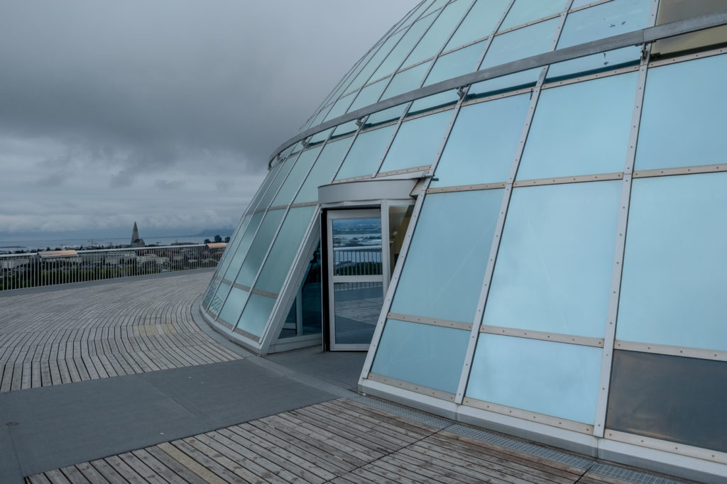 reykjavik observationsplattform perlan