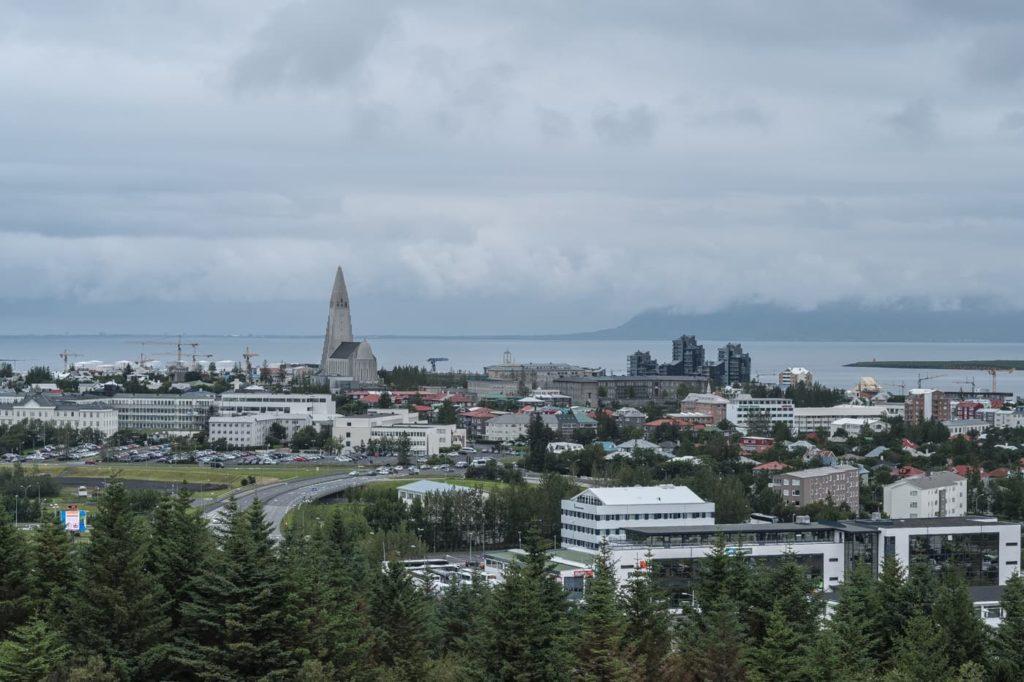 reykjavik perlan view
