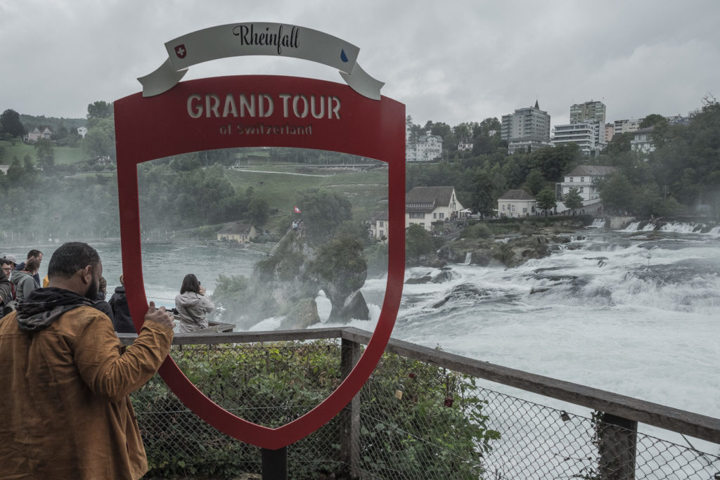 Grand Tour Switzerland Rheinfall
