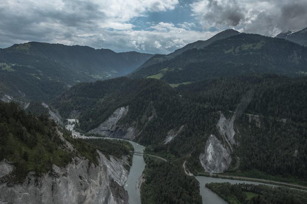 rheinschlucht little swiss canyon