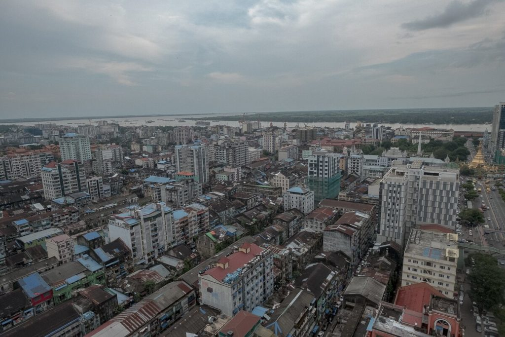 rooftop yangon sakura tower