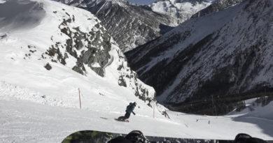 Snowboard Saas-Fee