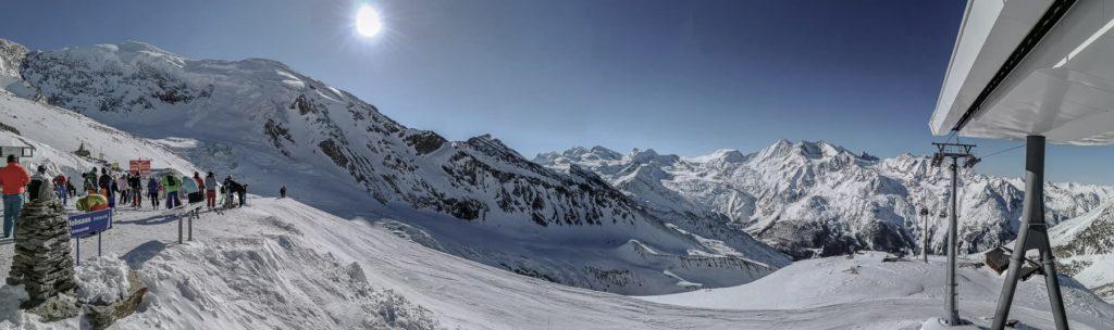 Panorama Saas-Grund