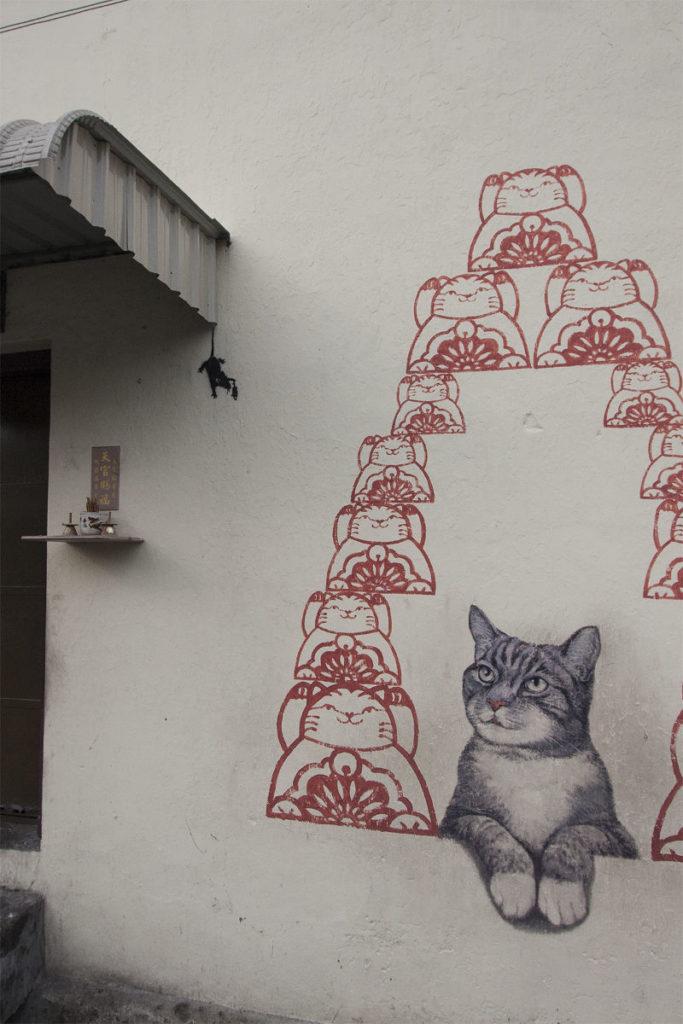 Katzenpyramide in Georgetown