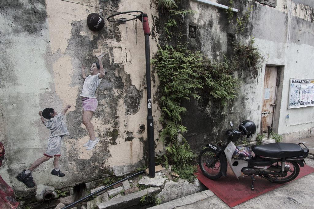 Streetart-Kunst in Georgetown