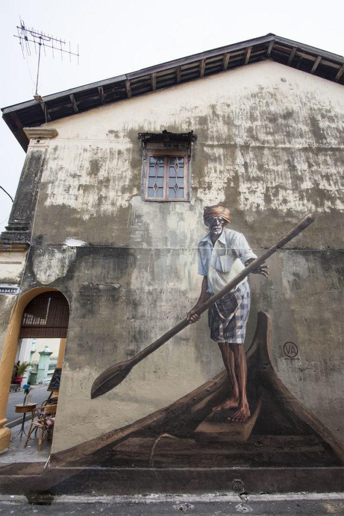 Streetartparadies in Malaysia Penang