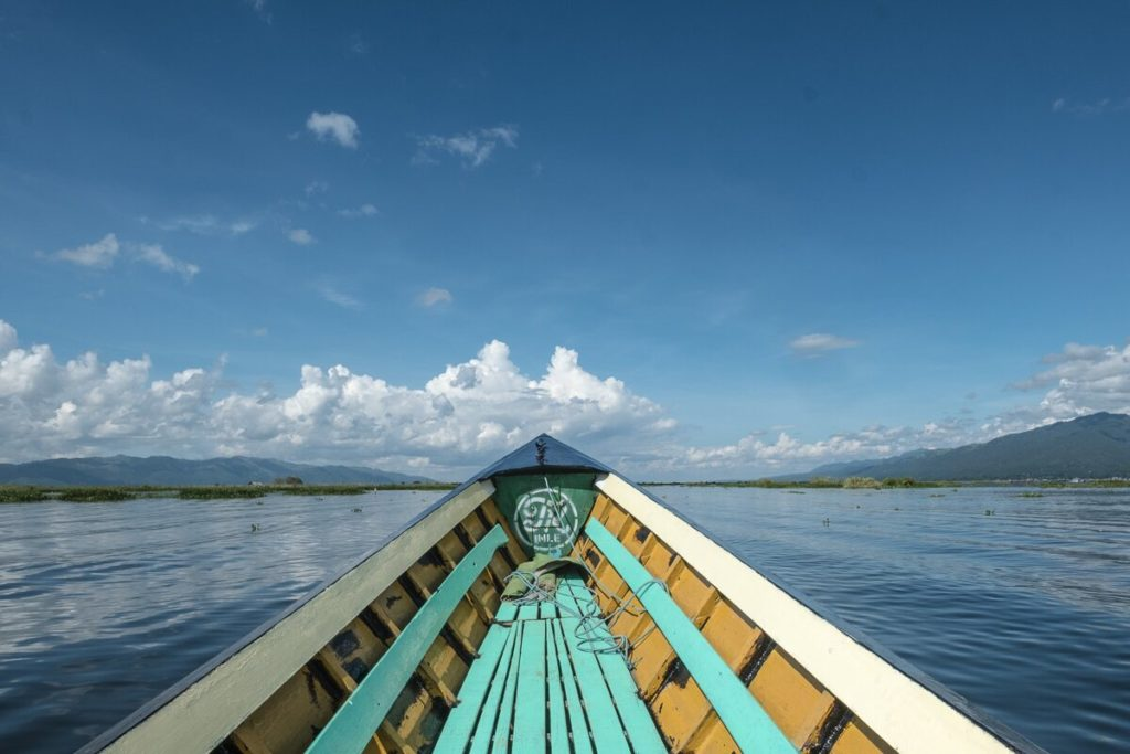 schifffahren inle see