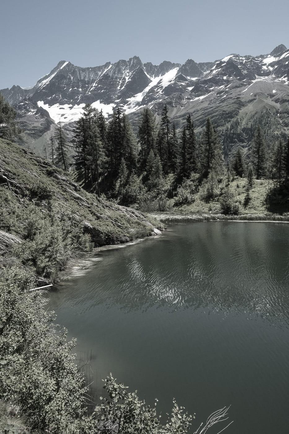 Schwarzsee oberhalb Blatten