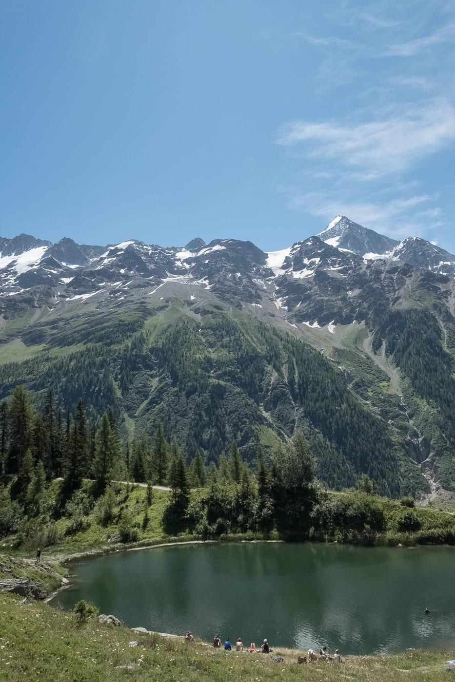 Schwarzsee zwischen Fafleralp und Lauchernalp