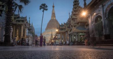 Yangon, die ehemalige Hauptstadt von Myanmar
