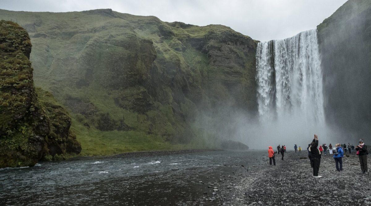 Skogafoss Wasserfall