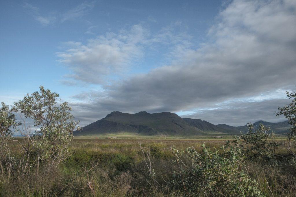 Snaefellsnes: Eine Camping Aussicht